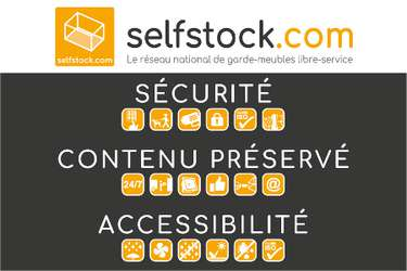 SELF STOCK Geispolsheim - Location de garde-meubles en libre-service