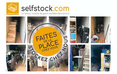 SELF STOCK Nantes / Saint Herblain - Location de garde-meubles en libre-service