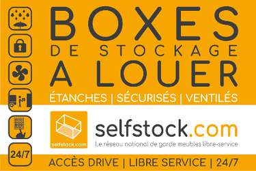 SELF STOCK Le Mans - Location de garde-meubles en libre-service