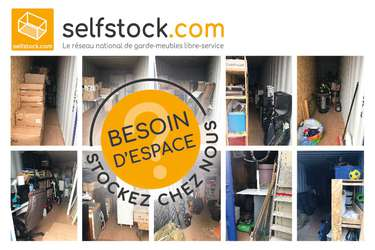SELF STOCK Caudan / Lorient - Location de garde-meubles en libre-service