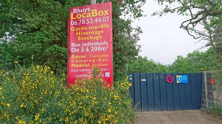 LOUE BOX EN SELFSTOCKAGE