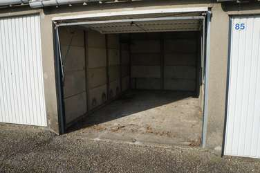Garage propre et accessible